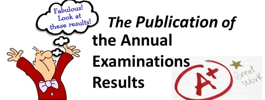 publication-of-annual-result